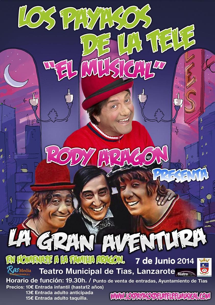 "c2876b0d93ayasos.jpg El musical ""Los payasos..."